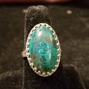 Native American Made Sterling Silver Ring